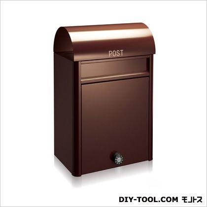 【送料無料】コーワソニア 郵便ポストduomoダイヤル錠 ブラウン 20×49.5×32cm 0