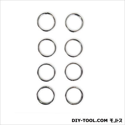 部材二重リング シルバー 0.2×1.7×1.7cm 20AP