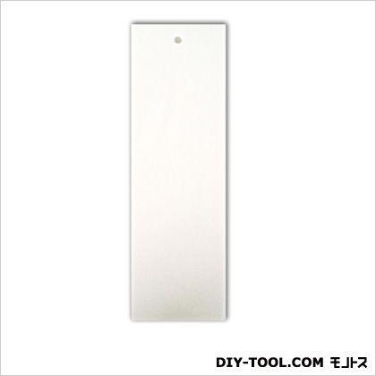 キョウリツサインテック  アクリル白無地板穴あき ホワイト 0.2×6×19cm 3NS