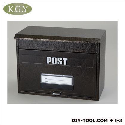 【送料無料】ケイジーワイ工業 どでかポスト エンボスブラウン SGE-4000 宅配ボックス 郵便ポスト ステンレス