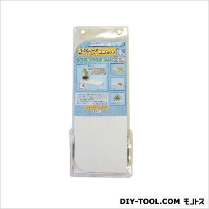 プラスターシェルフ棚板セット ホワイト 120×300×8mm PS-1230WW