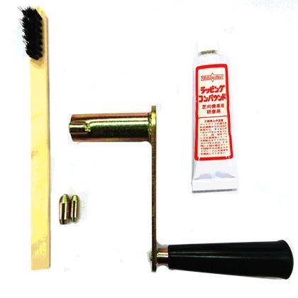 ゴールデンスター手動芝刈機用研磨セット   GL-100