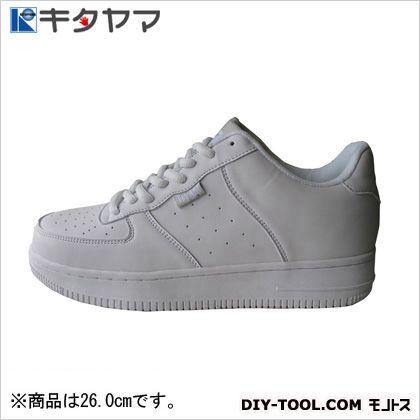安全靴マンティス紐タイプ3E ホワイト 26.0cm M-19