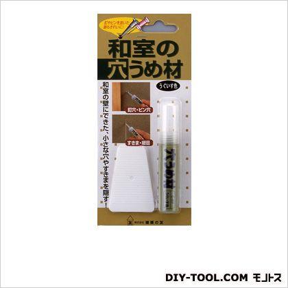 和室の穴うめ材 うぐいす色 W80×L180×H18mm(1パック) C-07
