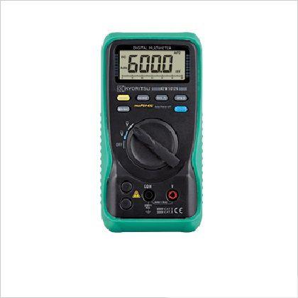 【送料無料】KYORITSU デジタルマルチメータ(電圧測定特化タイプ) 182 x 113 x 59 mm KEW1012K