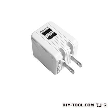 AC充電器USB2ポート2.1A   AJ-422