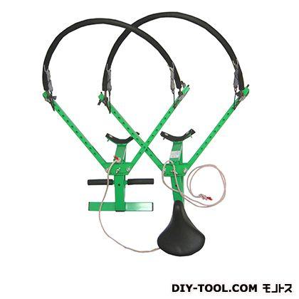 木登り器与作(大型11穴)KT-7000 グリーン 木使用可能径300m~480mm Y-2