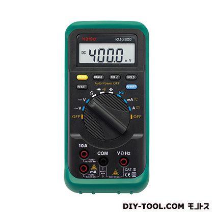 【送料無料】kaise デジタルマルチメーター KU-2600