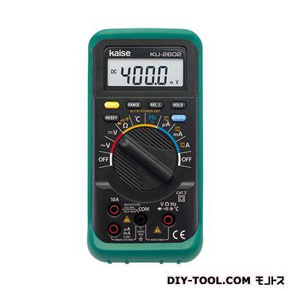 【送料無料】kaise デジタルマルチメーター KU-2602