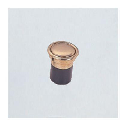 プッシュツマミ埋込 金消 25mm 12143
