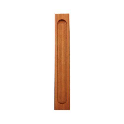 SOWA 天然木弁慶袖付戸引手 300mm 15901