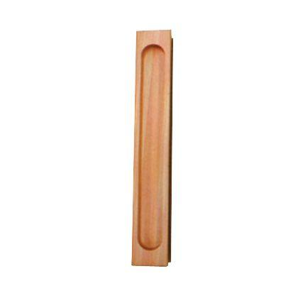SOWA 天然木弁慶袖付戸引手 200mm 15904