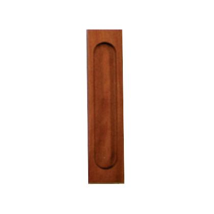 SOWA 天然木弁慶袖付戸引手 200mm 15906