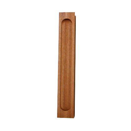 SOWA 天然木弁慶袖付戸引手 200mm 15910