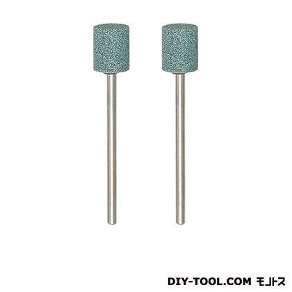 軸付砥石(GC)  形状:円柱φ8mm×10mmシャフト径:φ2.35mm 26776 2 本