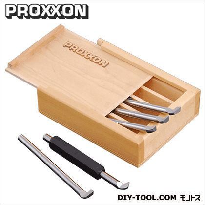 プロクソン/proxxon 内径切削用バイト5本セット(ハイス)旋盤用カッティングツール 24520