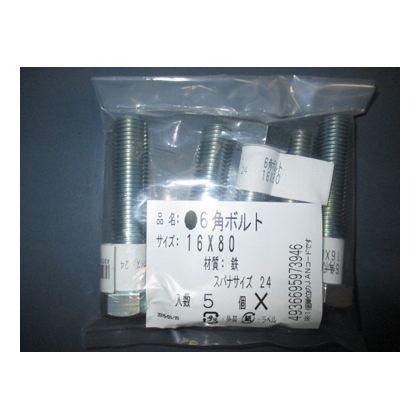 カインズ 6角ボルト 16X80 5セット