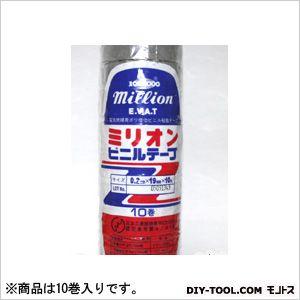 パイロン ミリオンビニルテープ19mm×10mグレー10巻入り 60 x 60 x 195 mm 10巻