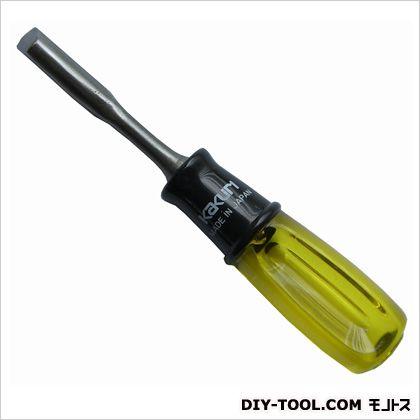 角利産業 木彫細工のみ丸曲 サイズ:全長165mm、先端部長さ75mm、刃先/9mm 12845