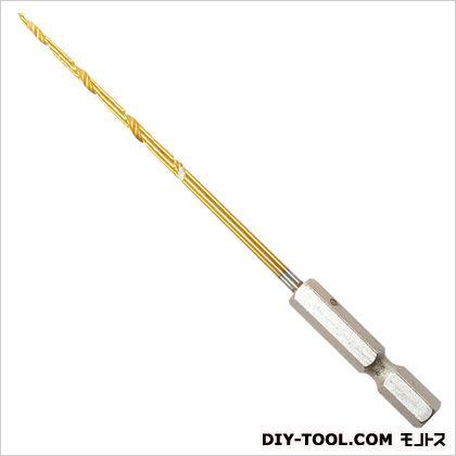 木釘専用下穴錐  全長:110mm、軸径:3.0mm、六角軸径:6.35mm