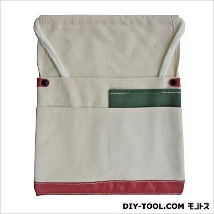帆布釘袋 白 225×270 KS-91