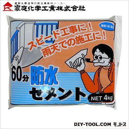 60分防水セメント  4kg 3590214000