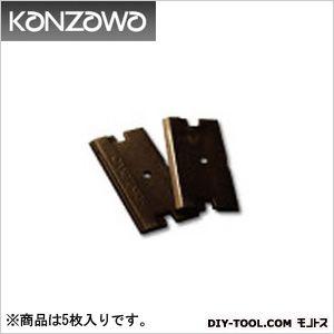 コンパクトスクレイパー(シールはがし)ペラPeLa別売り品(替刃5枚入り)   K-740-B