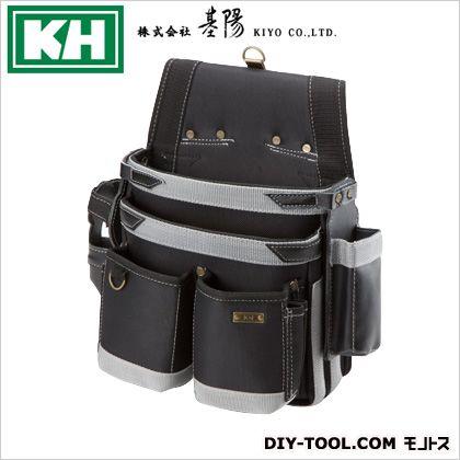 KH1680D超軽量シリーズネイルバッグW型 ブラック W210 H350 D110 24300
