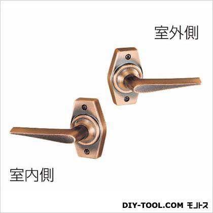 ホームレバー空錠 BS60 銅ブロンズ 60MM HL-1C