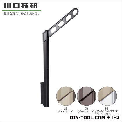 腰壁用ホスクリーン上下式 スタンダードタイプ ライトブロンズ  EP-45-LB 1セット  (2本入り)