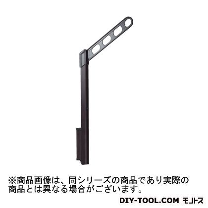 腰壁用ホスクリーン上下式 スタンダードタイプ アーム:ライトブロンズポール:シルバー  EP-45-SB 1セット  (2本入り)