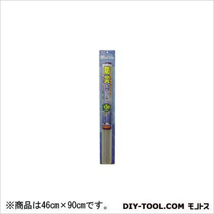 防災・地震対策フィルム130μ クリアー 46cmX90cm HGS-13S