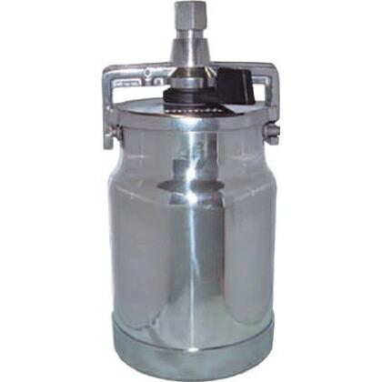 デビルビス 吸上式塗料カップアルミ製レバータイプ(容量1000cc)G1/4 KR-555-2