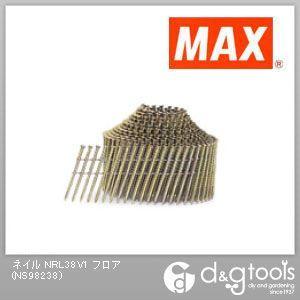 【送料無料】マックス ワイヤ連結釘 リバースブロック NRL38V1 フロア 400本×10巻×2箱