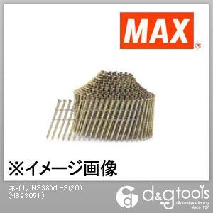 【送料無料】マックス ワイヤ連結釘 スクリュ NS38V1-S(20) 400本×10巻×2箱