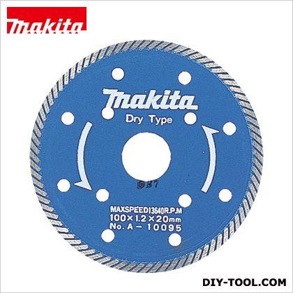 マキタ/makita ダイヤモンドホイール100スーパースリム A-10095