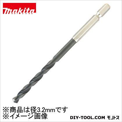 マキタ/makita 木下穴・鉄用六角軸ドリル3.2 3.2ミリ A-40412