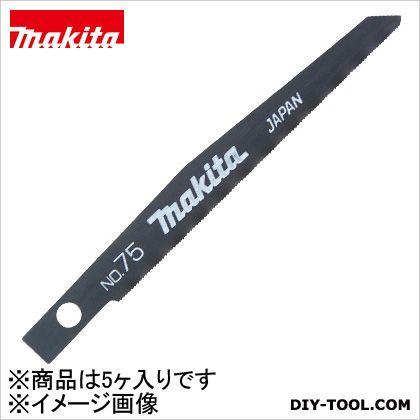 充電式レシプロソー75(5入)鉄工薄物用  75 A-41648 5 ヶ