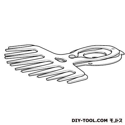 芝生替刃特殊コーティング刃  160mm A-51100