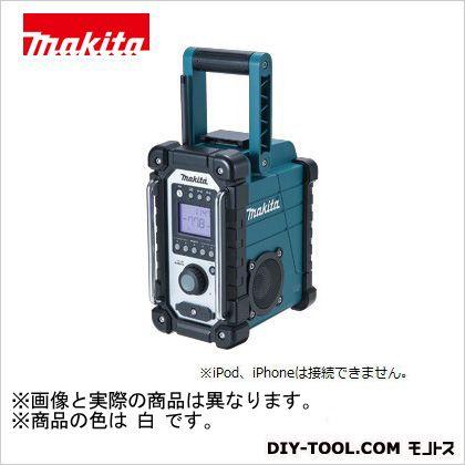 マキタ/makita 充電式現場ラジオ本体のみ(バッテリ・充電器別売り) 白 MR102W