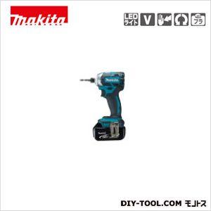 充電式インパクトドライバ(付属品)バッテリBL1850×2本・充電器DC18RC 青  TD148DRTX