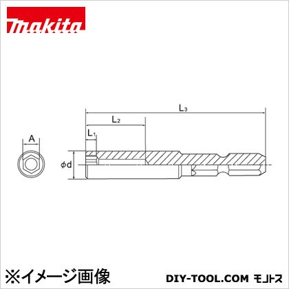 マキタ/makita タフソケットビット17 17mm A-51932