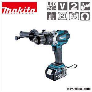 マキタ/makita 充電式震動ドライバドリル(バッテリー&充電器付き) HP458DRFX
