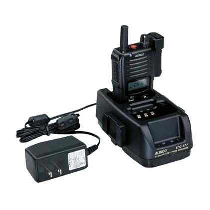 【送料無料】マイゾックス 同時通話型特定小電力トランシーバーDJ-P45用ツイン充電器セット EDC-177A