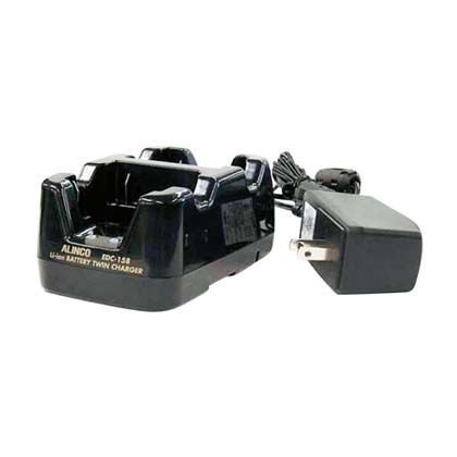 【送料無料】マイゾックス 特定小電力トランシーバーDJ-PB20用EBP-70用ツイン急速充電器 EDC-158A