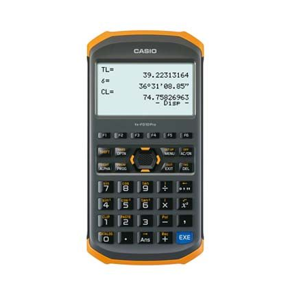 土木測量専業電卓   fx-FD10pro