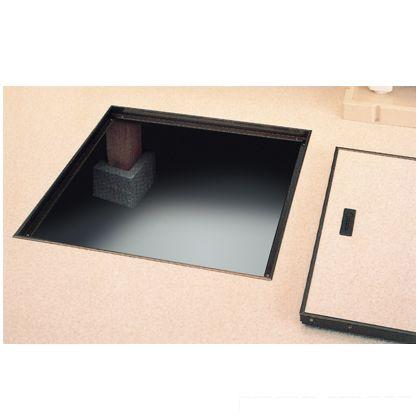 KYハウスハッチ 床下点検口 シルバー 床開口寸法:450×450mm S450  1 台
