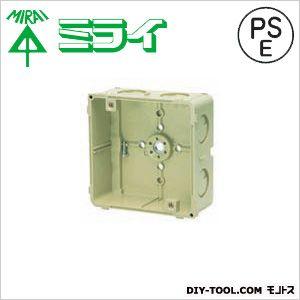 未来工業 埋込四角アウトレットボックス CDO-4A-EM