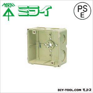 未来工業 埋込四角アウトレットボックス CDO-4B-EM