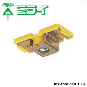 未来工業 フラットデッキ用 ボルト固定具 カラー台座付 黄 SDB-3DY 10ヶ